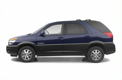 90 Degree Profile 2003 Buick Rendezvous