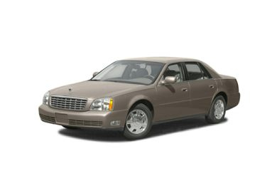 3/4 Front Glamour 2003 Cadillac DeVille