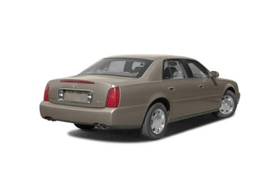 3/4 Rear Glamour  2003 Cadillac DeVille