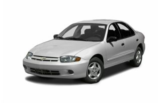 3/4 Front Glamour 2003 Chevrolet Cavalier