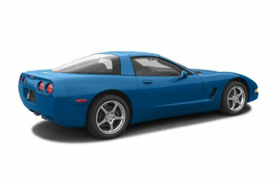 3/4 Rear Glamour  2003 Chevrolet Corvette