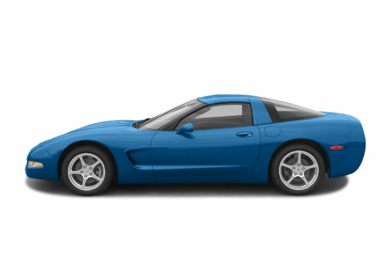 90 Degree Profile 2003 Chevrolet Corvette