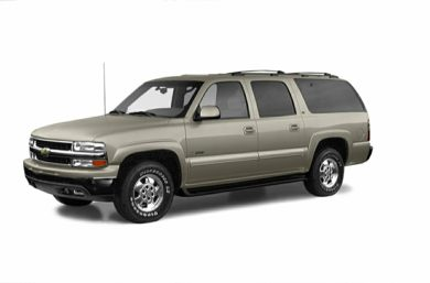 3/4 Front Glamour 2003 Chevrolet Suburban 2500