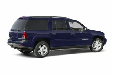 3/4 Rear Glamour  2003 Chevrolet TrailBlazer EXT