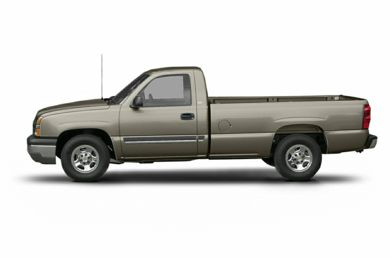 90 Degree Profile 2003 Chevrolet Silverado 1500