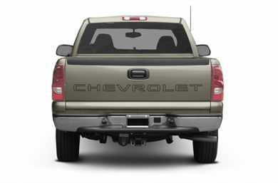Rear Profile  2003 Chevrolet Silverado 1500