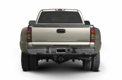 Rear Profile  2003 Chevrolet Silverado 3500