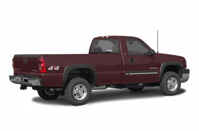 3/4 Rear Glamour  2003 Chevrolet Silverado 2500HD