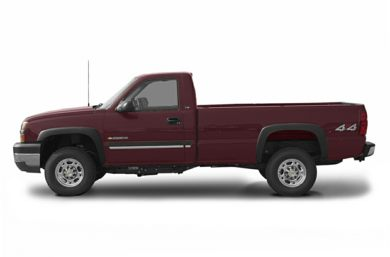 90 Degree Profile 2003 Chevrolet Silverado 2500HD
