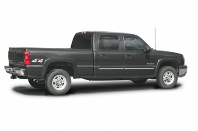 3/4 Rear Glamour  2003 Chevrolet Silverado 1500HD