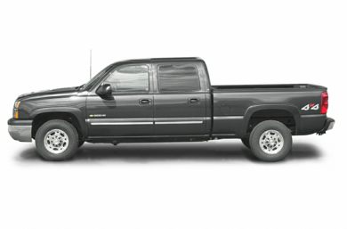 90 Degree Profile 2003 Chevrolet Silverado 1500HD