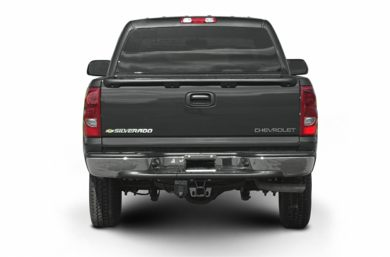 Rear Profile  2003 Chevrolet Silverado 1500HD