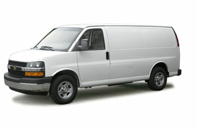 3/4 Front Glamour 2003 Chevrolet Express