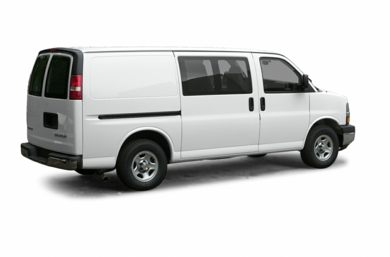 3/4 Rear Glamour  2003 Chevrolet Express