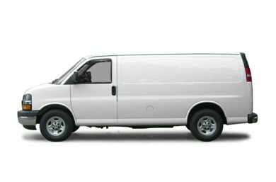90 Degree Profile 2003 Chevrolet Express