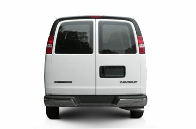 Rear Profile  2003 Chevrolet Express