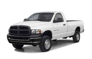 3/4 Front Glamour 2003 Dodge Ram 2500