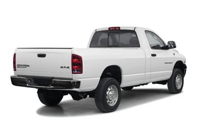 3/4 Rear Glamour  2003 Dodge Ram 2500
