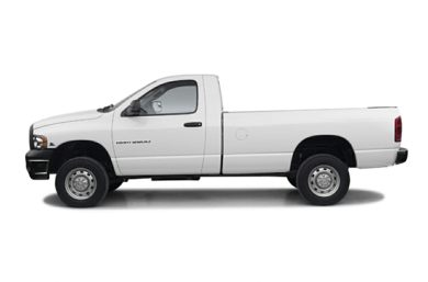 90 Degree Profile 2003 Dodge Ram 2500