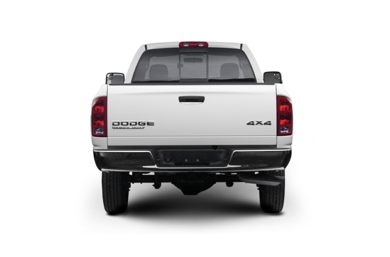 Rear Profile  2003 Dodge Ram 2500