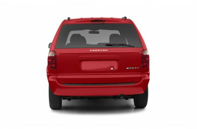 Rear Profile  2003 Dodge Caravan