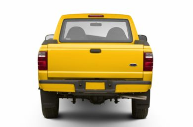 Rear Profile  2003 Ford Ranger