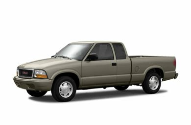 3/4 Front Glamour 2003 GMC Sonoma