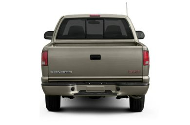 Rear Profile  2003 GMC Sonoma