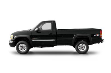90 Degree Profile 2003 GMC Sierra 2500HD
