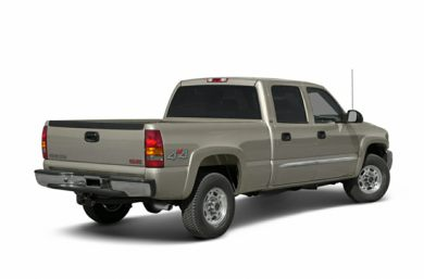 3/4 Rear Glamour  2003 GMC Sierra 1500HD