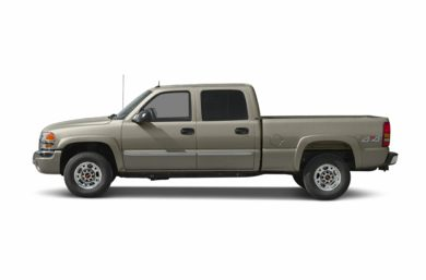 90 Degree Profile 2003 GMC Sierra 1500HD