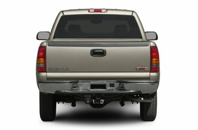 Rear Profile  2003 GMC Sierra 1500HD