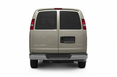 Rear Profile  2003 GMC Savana