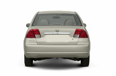 Rear Profile  2003 Honda Civic