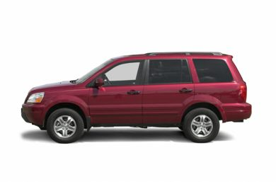 90 Degree Profile 2003 Honda Pilot