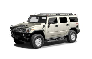 3/4 Front Glamour 2003 HUMMER H2