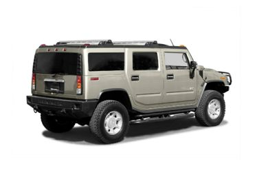 3/4 Rear Glamour  2003 HUMMER H2