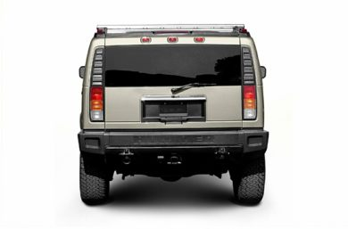 Rear Profile  2003 HUMMER H2