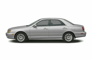 90 Degree Profile 2003 Hyundai XG350