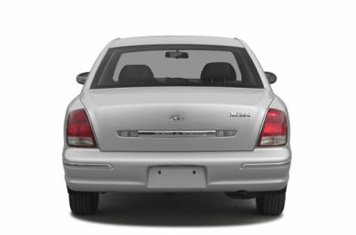 Rear Profile  2003 Hyundai XG350