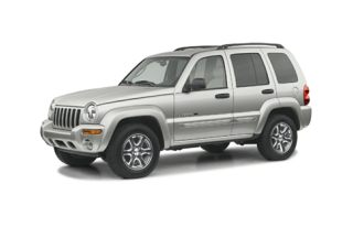 3/4 Front Glamour 2003 Jeep Liberty