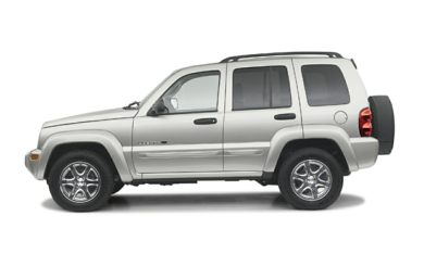 90 Degree Profile 2003 Jeep Liberty