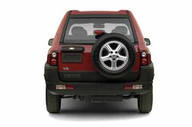 Rear Profile  2003 Land Rover Freelander