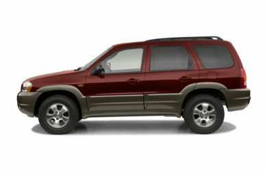 90 Degree Profile 2003 Mazda Tribute