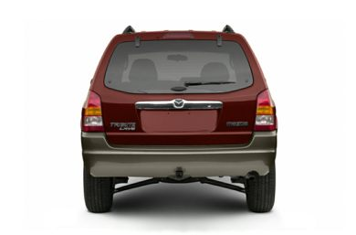 Rear Profile  2003 Mazda Tribute