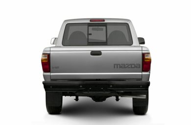 Rear Profile  2003 Mazda B3000
