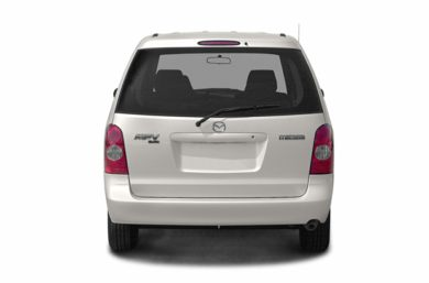 Rear Profile  2003 Mazda MPV