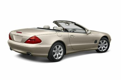 3/4 Rear Glamour  2003 Mercedes-Benz SL500