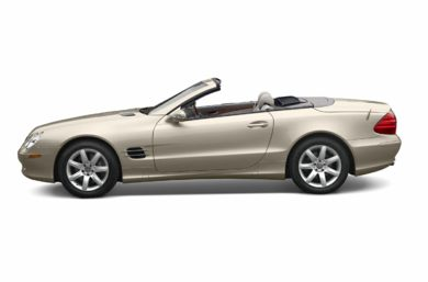 90 Degree Profile 2003 Mercedes-Benz SL500