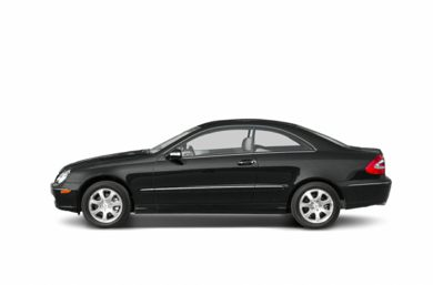 90 Degree Profile 2003 Mercedes-Benz CLK320
